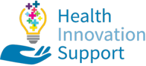 Health Innovation Support Website Header Logo